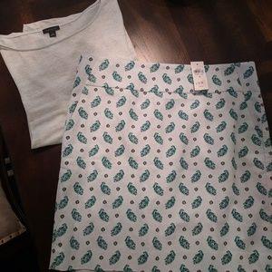 Ann Taylor Shorts - Set - Ann Taylor Skort & Shirt